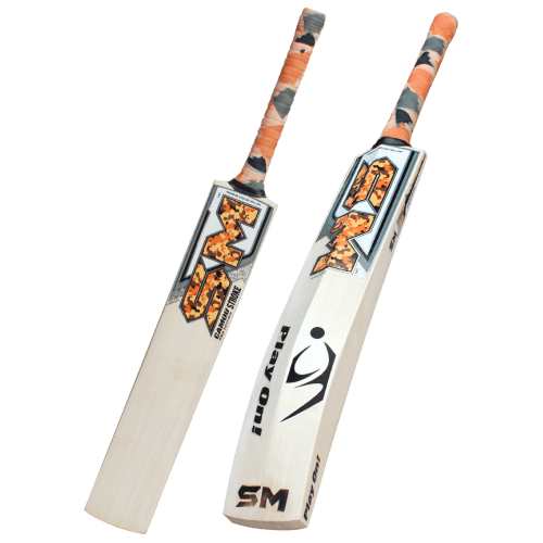 SM Camou Pro Edition STROKE English Willow Cricket Bat