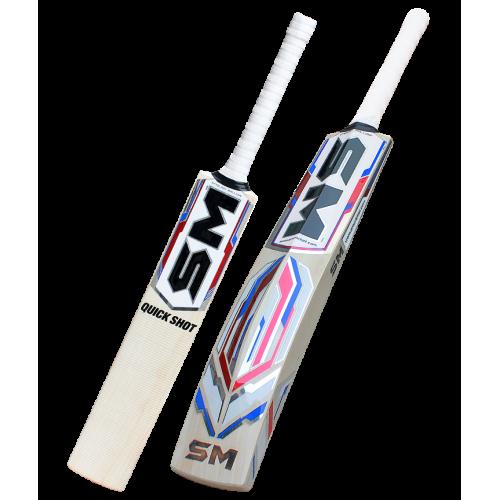 SM Quick Shot English Willow Cricket Bat