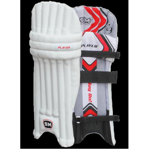 SM Player Cricket Batting Leg guard - Men's Size