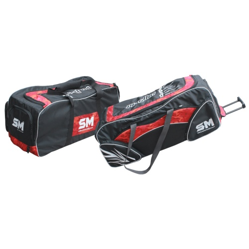 SM US 100 Cricket Kit Bag with Trolley