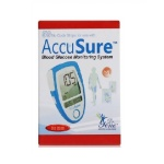 50 Test Strips of Accusure Blood Glucose Monitor
