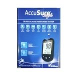AccuSure Simple Blood Glucose Monitor with 25 Strips