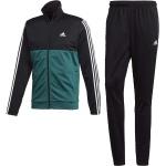 Adidas 3 Stripes Green Tracksuit
