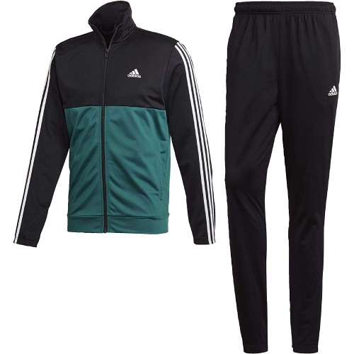 Adidas 3 Stripes Green Tracksuit
