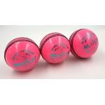 AJ MATCH Cricket Balls (Pink) - Pack of 3
