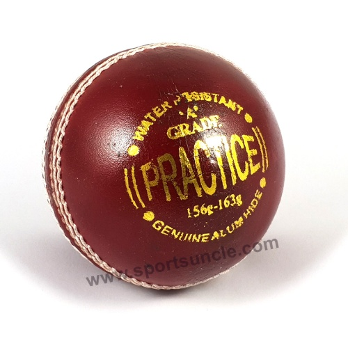 AJ PRACTICE Balls (Red) - Pack of 3 Balls