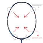 Apacs Ziggler LHI pro Badminton Racket