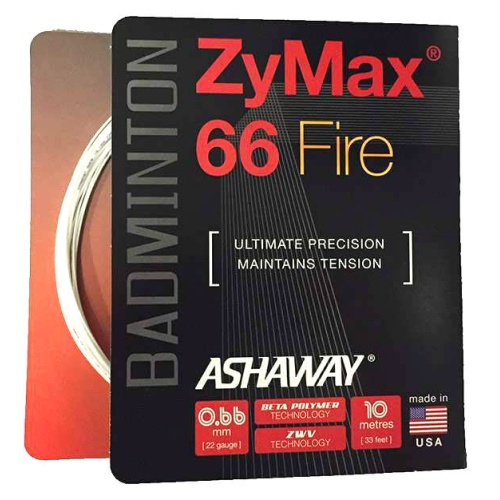 Ashaway ZyMax 66 Fire Badminton String