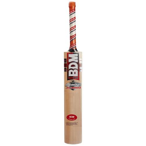 BDM Admiral Jumbo English Willow Cricket Bat - Size SH