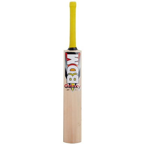 BDM Galaxy Plus English Willow Cricket Bat - Size SH