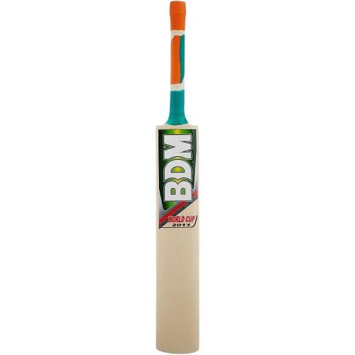 BDM World Cup Kashmir Willow Cricket Bat - Size SH