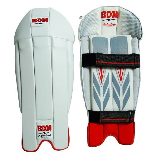 BDM Admiral Cricket Wicket Keeping Leg Guard