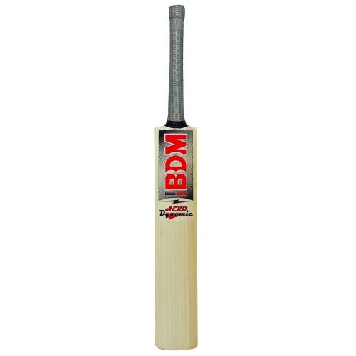 BDM Aero Dynamic English Willow Cricket Bat - Size SH