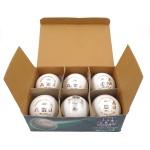 BDM white Leather Ball