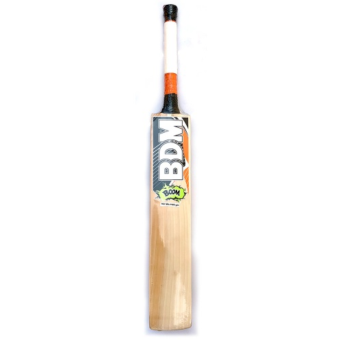BDM BOOM English Willow Cricket Bat - Size SH