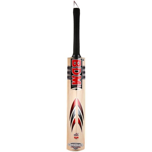 BDM Commander Max Power English Willow Cricket Bat - Size SH