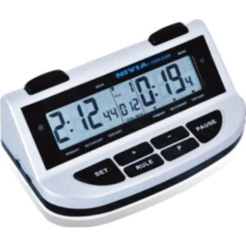 Nivia Chess Clock (Black/Grey)