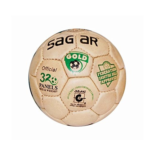 Sagar Gold Shooting Ball - 32 Panels, Size 4