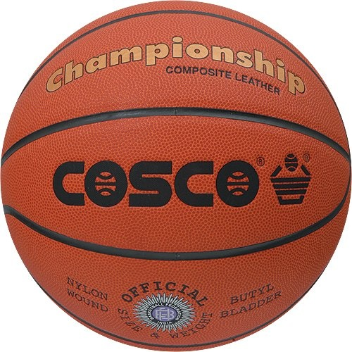 Cosco Championship Basketball, Size 7 (Orange)