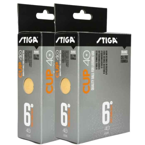 Stiga Cup Tennis Ball - Pack of 12 Balls