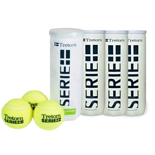 Cosco Tretorn Serie Tennis Ball - Pack of 12 Balls