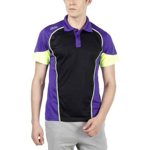 Dida Polyster Sports Polo Tshirt