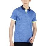 Dida Spandex Melange Polo Sports Tshirt