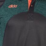 Dida Melange Polyster Sports Tshirt
