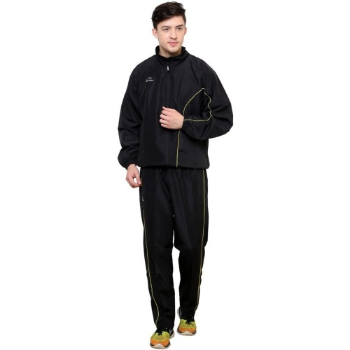 Dida Sportswear Solid Men s Track Suit - Black
