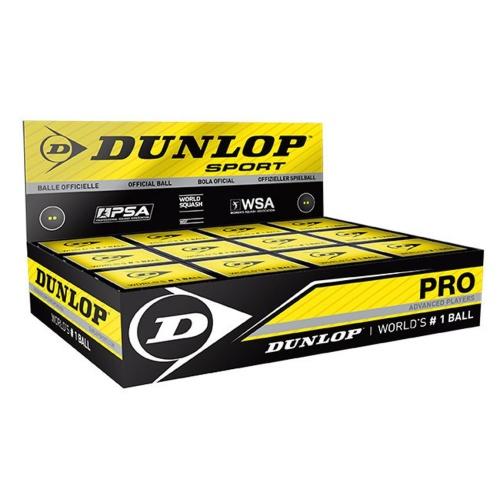 Dunlop Pro Double Dot Rubber Squash Ball
