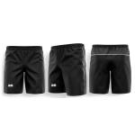 EM Tech Mesh Black Shorts