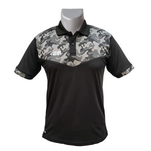 EM Camo Collar Tshirt