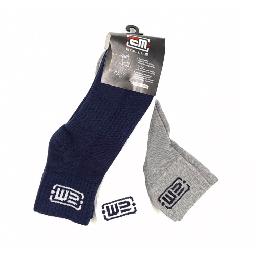 EM Cushioned Ankle Socks (pack of 3)