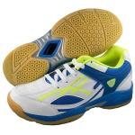 ESS Badminton Pro Shoes - White/Blue