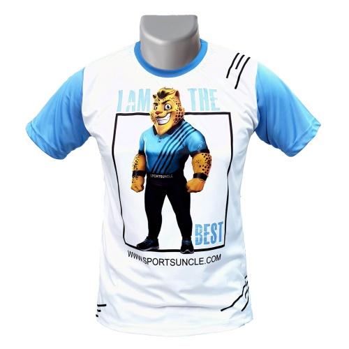 Round Neck Badminton Tshirt