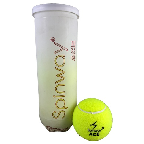 Spinway Ace Premium Tennis Balls (Pack of 3)