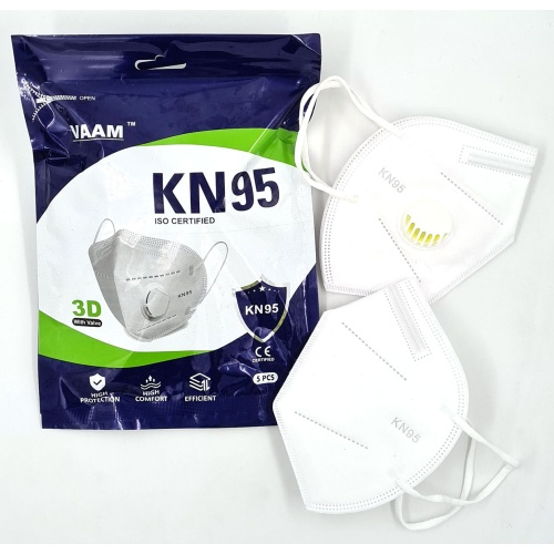 Vaam Premium Quality KN95 Filter Face Mask
