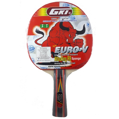 GKI Euro V Table Tennis Racquet
