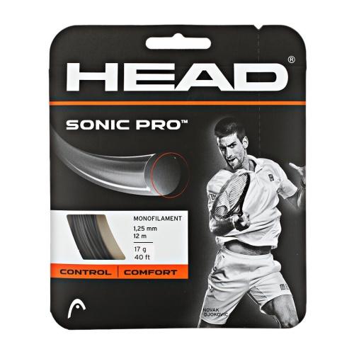 Head Sonic Pro Tennis String - Black