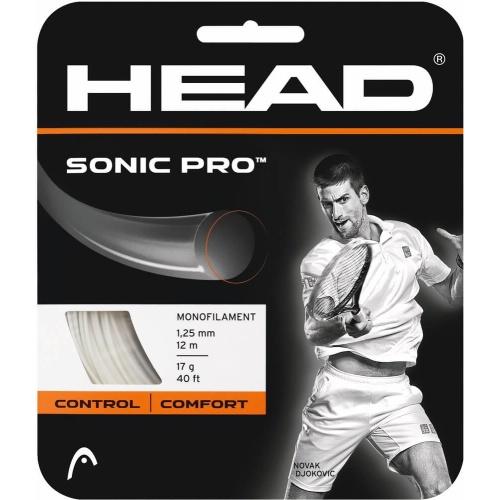 Head Sonic Pro Tennis String - White