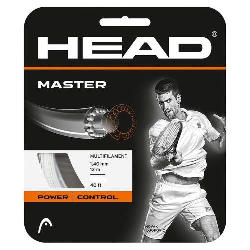 Head Master Tennis String - White