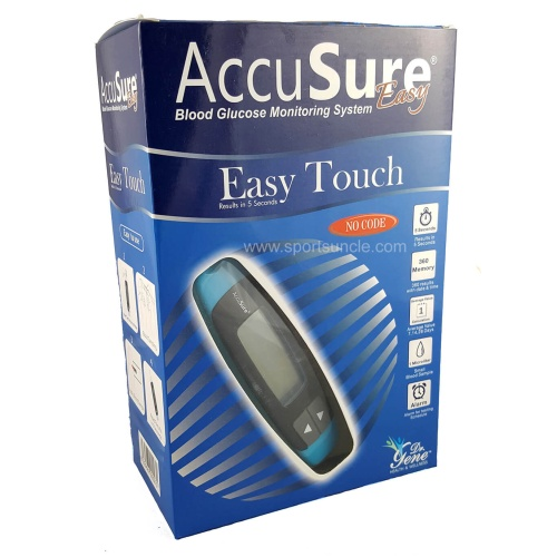 AccuSure Easy Touch Blood Glucose Monitoring with 25 Strips