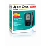 Accu Check Active Glucose Meter with 10 Free Strips