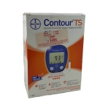 Bayer Contour TS Blood Glucometer with 10 Strips