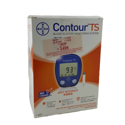 Bayer Contour TS Blood Glucometer without Strips
