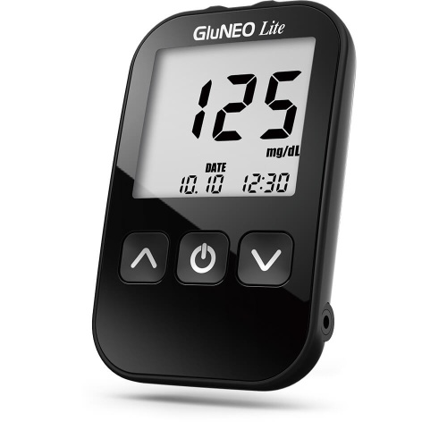 Infopia GluNEO Lite - Blood Glucose Meter with 25 strips