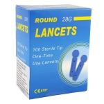 JSB 100 pcs ROUND Lancets