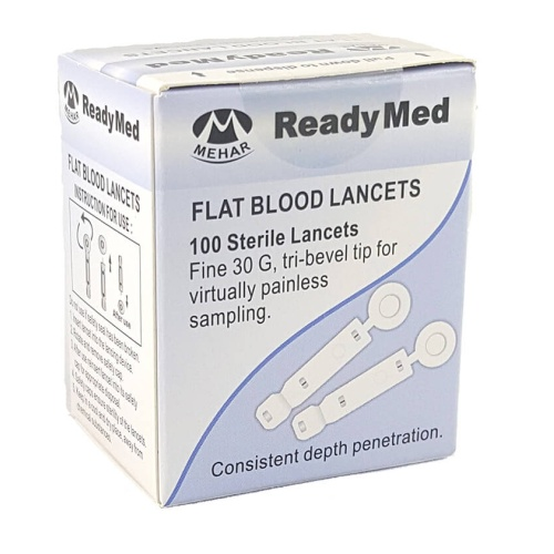 ReadyMed 100 pcs FLAT Lancets