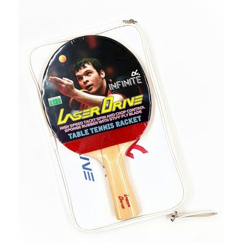 Infinite Laser Drive Table Tennis Bat with Cover