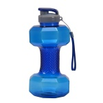 iShake 1.5 Liter Dumbbell Shape Gallon Water Bottle